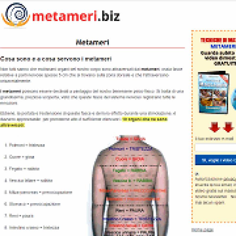 Metameri Benessere E Salute Directory Web Di Qualita Per Siti Web